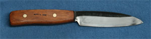 4 inch bushcraft camping hunting knife best for wood gathering and cutting.